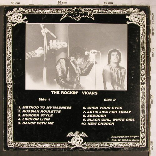 Lords Of The New Church: The Rockin'Vicars,Oct.12 1984, (), B, 1984 - LP - X4943 - 9,00 Euro