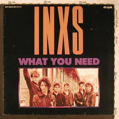 INXS: What You Need+2, Mercury(844 414-1), D, 1985 - 12inch - X4965 - 4,00 Euro