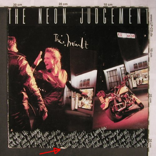 Neon Judgment: The Insault, m-/vg+, play It Again Sam/Globus(BIAS 175), NL, 1990 - LP - X5072 - 7,50 Euro