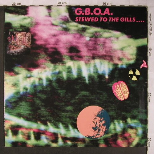 Gay Bikers On Acid: Stewed to the gills..., Virgin(209 745-630), D, 1988 - LP - X5079 - 7,50 Euro