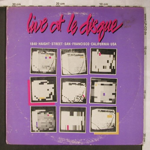 V.A.Live At Le Disque: Confessions...The Rakes, Foc, Jump Rec.(JR0002), US, 1981 - 2LP - X5094 - 25,00 Euro