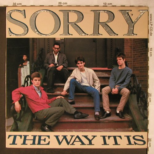Sorry: The Way it is, Homestead Rec.(HMS 036), US/CDN, co, 1986 - LP - X5125 - 7,50 Euro