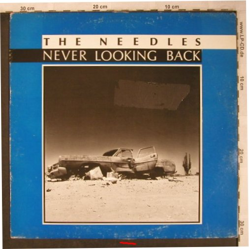 Needles: Never Loooking Back, m-/vg+, Phantas Magoria in Town(PIT 8601), CH/I,  - LP - X5136 - 9,00 Euro