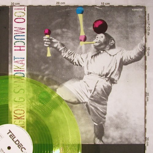 Hongkong Syndikat: Too Much*2 ,greenyellow Vinyl, Teldec(6.20483 AE), D, 1985 - 12inch - X5462 - 3,00 Euro