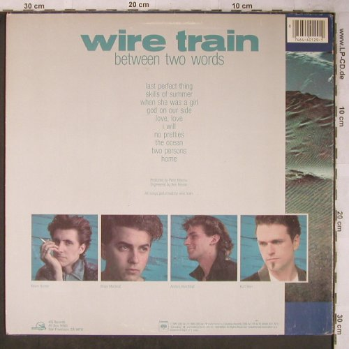 Wire Train: Between two words, m-/vg+, Columbia(BFC 40129), US, 1985 - LP - X5476 - 5,00 Euro