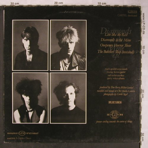 Artery: Diamonds in the Mine e.p., m-/vg+, Golden Dawn(GD 1204), UK, 1984 - 12inch - X5488 - 7,50 Euro