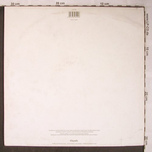 Ure,Midge: Answers to nothing, m-/vg+, Chrysalis(CHR 1649), UK, 1988 - LP - X5493 - 6,00 Euro