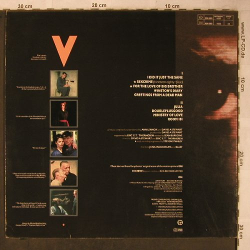 Eurythmics: 1984, Virgin(206 680-620), D, 1984 - LP - X5570 - 6,00 Euro