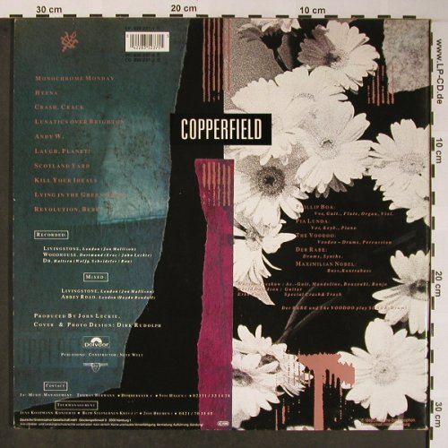 Boa,Phillip & Voodoo Club: Copperfield, Foc, Polydor(835 237-1), D, 1988 - LP - X5866 - 7,50 Euro