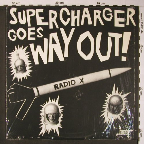 Supercharger: Goes Way Out, Estrus Recording Institu(ES 127), US, 1993 - LP - X5929 - 15,00 Euro