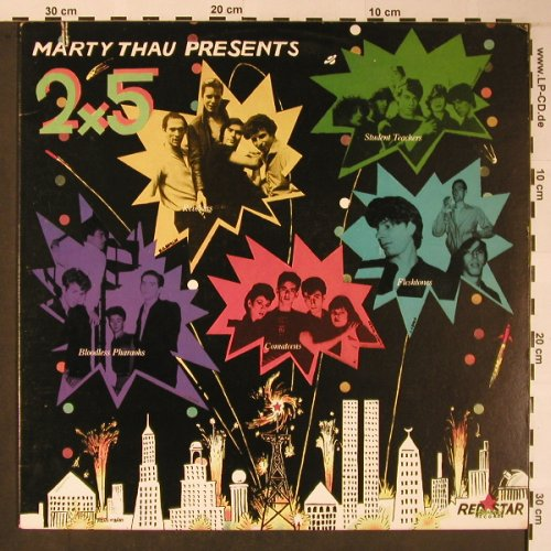 V.A.Marty Thau Presents: 2 x 5, Red Star(RED 100), US, co, 1980 - LP - X5935 - 7,50 Euro