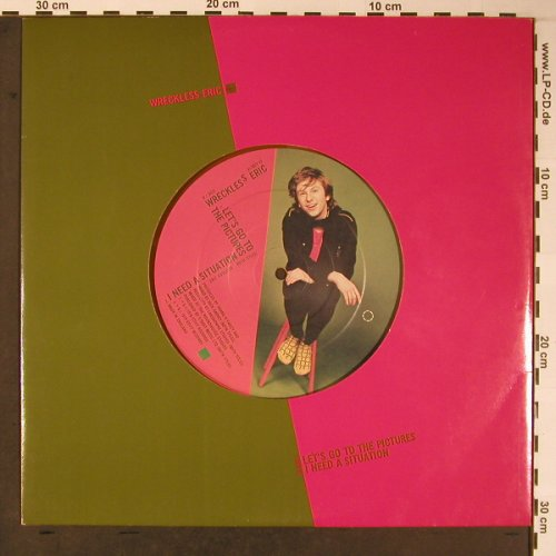 "Wreckless Eric: Hit And Miss Judy, Orange Vinyl, Stiff(12BUY 49), UK, 1979 - 12""gx - X5966 - 6,00 Euro"