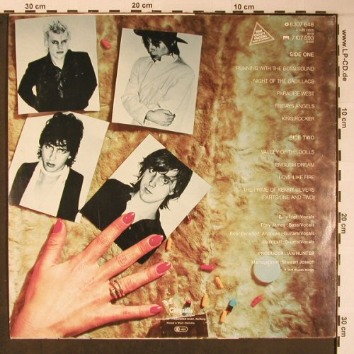 Generation X: Valley Of Dolls, Chrysalis(6307 648), D, 1979 - LP - X6085 - 11,50 Euro