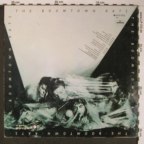 Boomtown Rats: Same, Mercury(6310 950), D, 1977 - LP - X6098 - 9,00 Euro