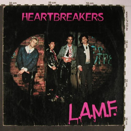 Heartbreakers: L.A.M.F., m-/VG+, Track Records(2409 218), UK, 1977 - LP - X6138 - 50,00 Euro