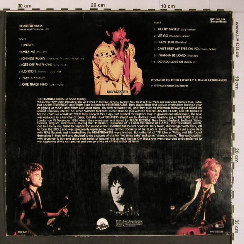 Heartbreakers: Live At Max's Kansas City, m-/vg+, BBQ(INT 146.521), D, 1979 - LP - X6141 - 20,00 Euro
