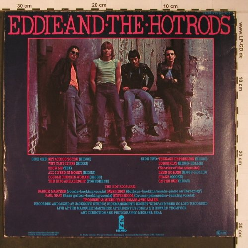 Eddie And The Hot Rods: Teenage Depression, Island(28 302 XOT), D, 1976 - LP - X6145 - 20,00 Euro
