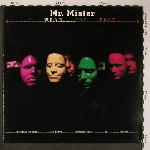 Mr.Mister: I Wear The Face, RCA,Musterplatte(PL84864), D, 1984 - LP - X6301 - 6,00 Euro