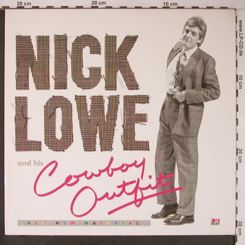 Lowe,Nick and his Cowboy Outfit: All New Material, RCA Rivera Global(ZL70338), D, 1984 - LP - X6387 - 7,50 Euro