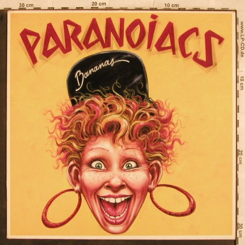Paranoiacs: Bananas, Play it ag(BIAS 143), NL,  - LP - X652 - 7,50 Euro