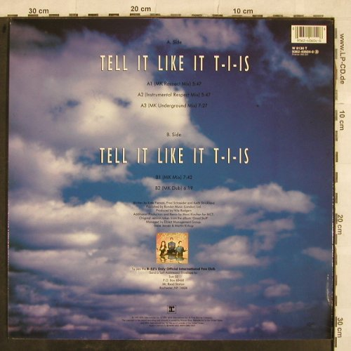 B-52's: Tell It Like It T-I-Is!*2, Reprise(9362-40604-0), D, 1992 - 12inch - X660 - 4,00 Euro