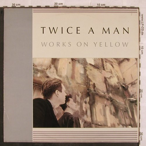 Twice A Man: Works On Yellow,yellow vinyl, Yellow Ltd(EfA 2206), D, m-/vg+, 1986 - LP - X663 - 9,00 Euro
