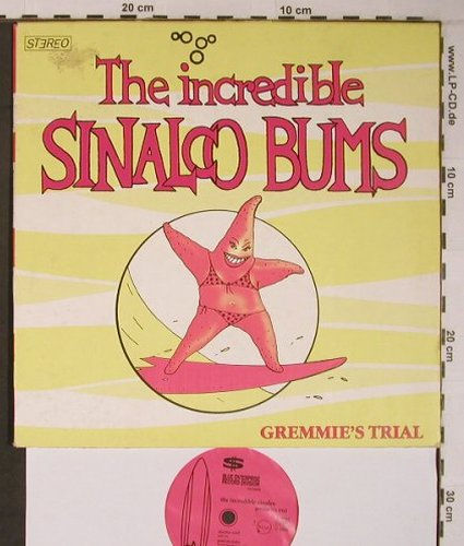 Incredible Sinalco Bums: Gremmie'sTrail,Poster,Booklet, Blue Enterprise Rec.(BERD#020669), D, vg+/vg+,  - 10inch - X6704 - 12,50 Euro