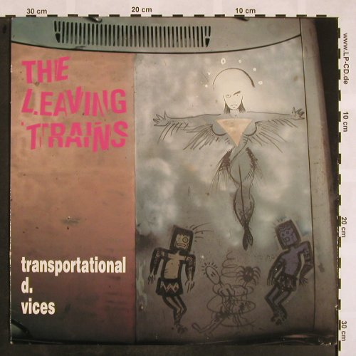 Leaving Trains: Transportational d. Vices, SST(221), US, 1989 - LP - X833 - 7,50 Euro