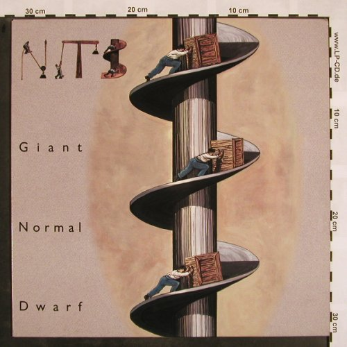 Nits: Giant Normal Dwarf, CBS(), NL, 1990 - LP - X835 - 7,50 Euro