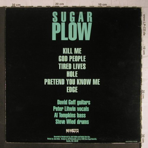 Daddy Hate Box: Sugar Plow, New Rage(NUR 100), US, 1990 - LP - A3012 - 5,00 Euro