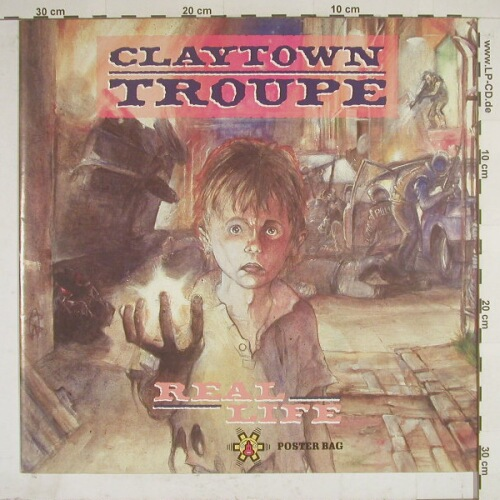 Claytown Troupe: Real Life. Poster Bag, Isl.(), UK, 89 - 12inch - A3165 - 4,00 Euro
