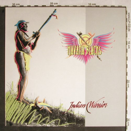 Havanna Blacks: Indian Warrior, EMI(79 0567), NL, 1988 - LP - B1026 - 2,50 Euro