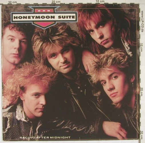 Honeymoon Suite: Racing After Midnight, WEA(255 445-1), D, 88 - LP - B1667 - 5,00 Euro