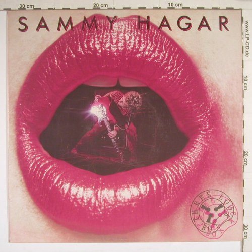 Hagar,Sammy: Three Lock Box, Geffen(GHS 2021), US, 82 - LP - B3649 - 7,50 Euro