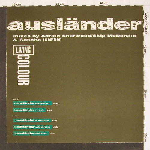 Living Colour: Ausländer*5, Facts, Epic(659173), NL, 93 - 12inch - B8504 - 4,00 Euro