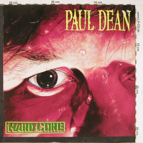 Dean,Paul: Hard Core, CBS(462977 1), NL, 1988 - LP - E4041 - 5,00 Euro