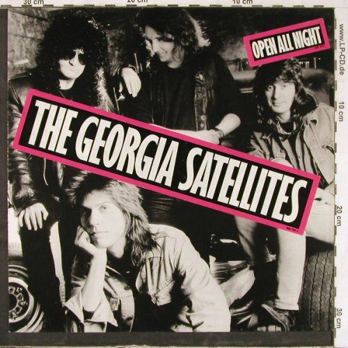 Georgia Satellites: Open All Night, Asylum(960 793-1), D, 1988 - LP - E4769 - 5,00 Euro