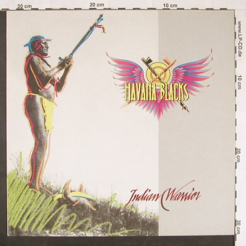 Havana Blacks: Indian Warrior, EMI(79 0567 1), EEC, 1988 - LP - E551 - 3,00 Euro
