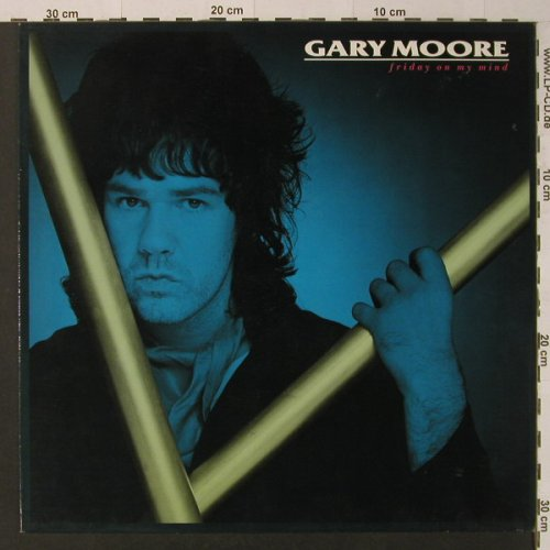 Moore,Gary: Friday On My Mind*2+1, 10(609 080-213), D, 1987 - 12inch - F4494 - 4,00 Euro