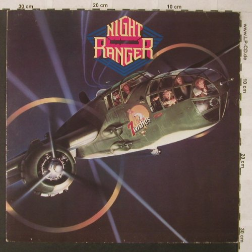 Night Ranger: 7 Wishes, MCA(252 229-1), D, 1985 - LP - F481 - 5,00 Euro