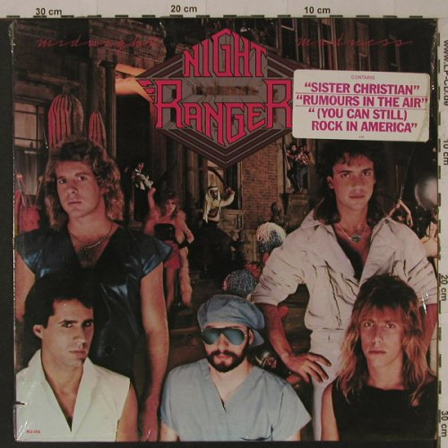 Night Ranger: Midnight Madness, FS-New, MCA(5456), US, co, 1983 - LP - F5233 - 6,00 Euro