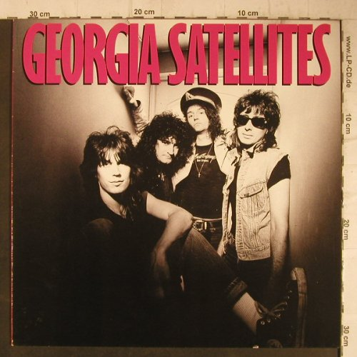 Georgia Satellites: Same, Elektra(960 496-1), D, 1986 - LP - F7502 - 6,00 Euro