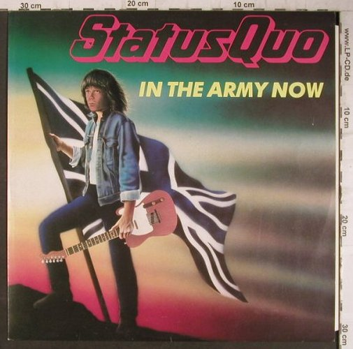 Status Quo: In The Army Now+2, Vertigo(888 056-1), D, 1986 - 12inch - F7553 - 3,00 Euro