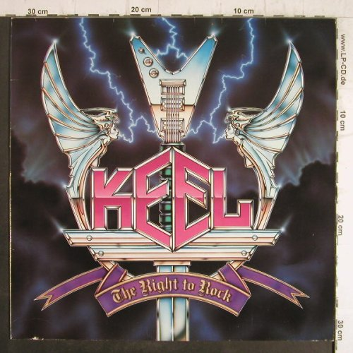 Keel: The Right To Rock, AM(824 549-1), , 1985 - LP - F8521 - 6,00 Euro