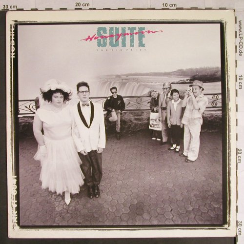 Honeymoon Suite: The Big Prize, WEA(252 824-1), D, 1985 - LP - H839 - 5,50 Euro