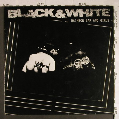 Black & White: Rainbow Bar And Girl *3, Atlantic(786 465-0), D, 1989 - 12inch - H860 - 5,00 Euro