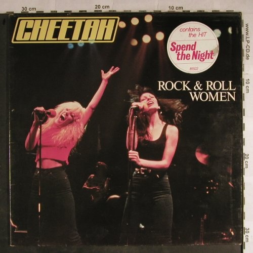 Cheetah: Rock & Roll Women, Foc, Epic(EPC 85522), NL, 1981 - LP - H8806 - 6,00 Euro