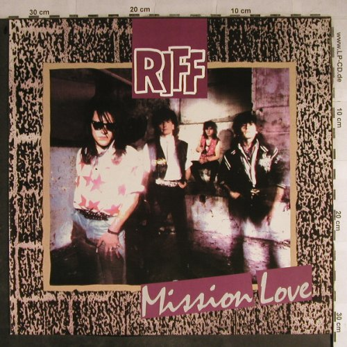 Riff: Mission Love, RCA(PL 74057), D, 1989 - LP - H8807 - 5,00 Euro