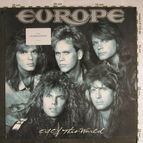 Europe: Out Of This World, Epic(EPC 462449 1), NL, 1988 - LP - H8814 - 5,00 Euro