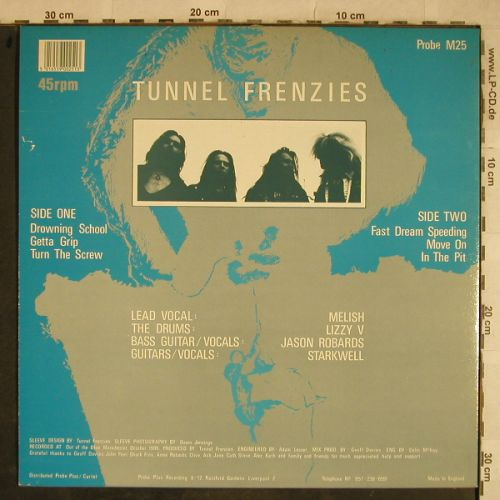 Tunnel Frenzies: Knee Deep And Wasted, Probe Plus(M25), UK,  - LP - H9602 - 2,50 Euro